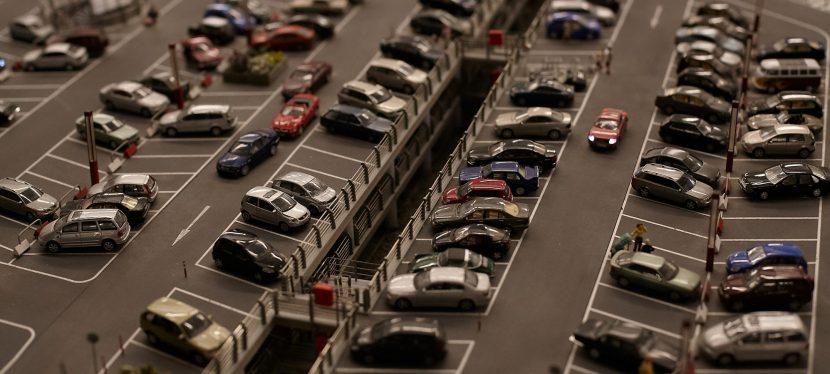 Overzicht: parkeren aan eenziekenhuis