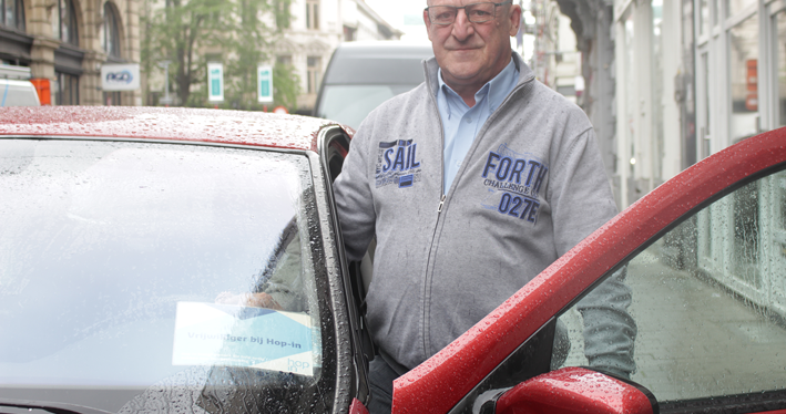 Vrijwilliger Chris VanRenterghem